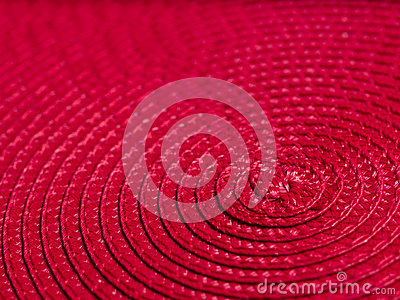 Abstract red spiral