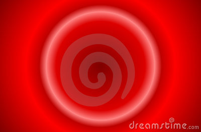Abstract red sunburst