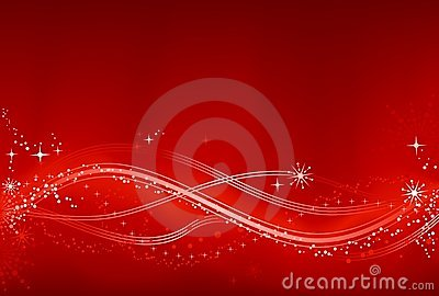 Abstract red and white Chrismas background