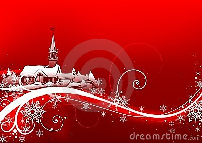 Abstract Red Xmas Stock Images - Image: 2960014