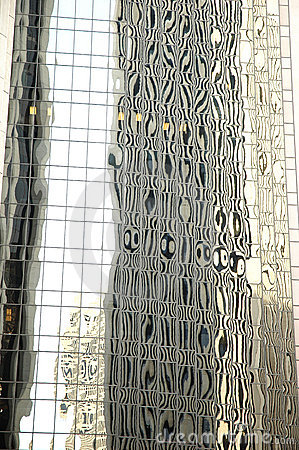 Free Abstract Reflections Of Office Building Stock Images - 14238534