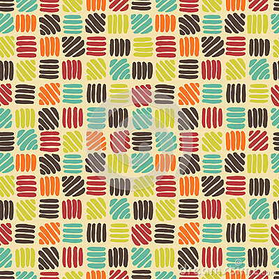 Free Abstract Retro Seamless Pattern Stock Image - 30149411