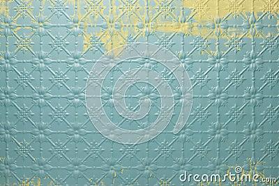Abstract Retro Tin Metal Background