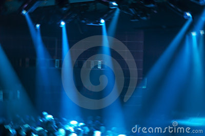 Abstract Rock Music Concert Stage Show Concept