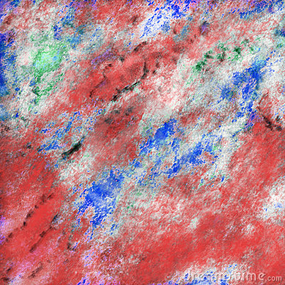 Abstract rock painting