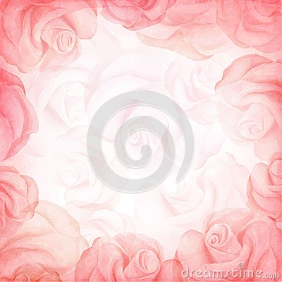 Free Abstract Romantic Vector Background In Red Colors. Vector Illustration Stock Image - 48229051