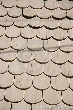 Abstract Roof Shingles