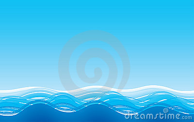 Abstract sea background
