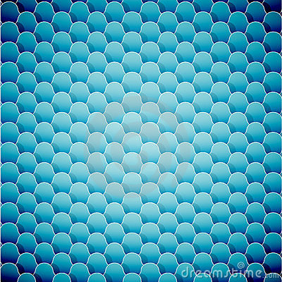 Abstract seamless blue background