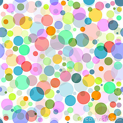 Abstract seamless colorful pattern