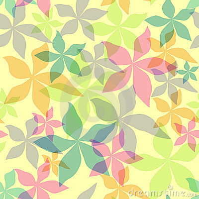 Free Abstract Seamless Floral Background Stock Photos - 9639193