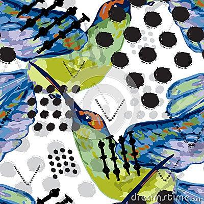 Free Abstract Seamless Pattern Stock Photo - 111341890
