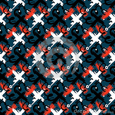 Free Abstract Seamless Pattern Stock Photo - 64464820