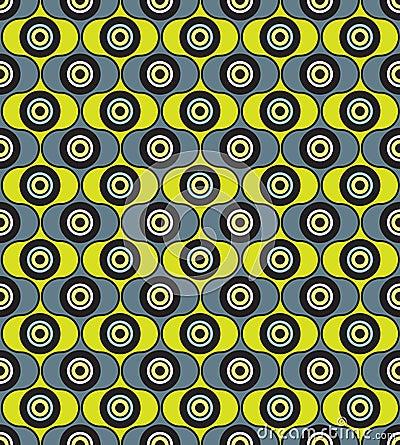 Abstract seamless pattern. geometric ornament