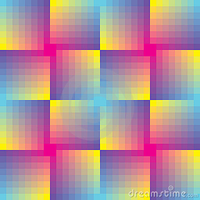 Abstract seamless square  mosaic background
