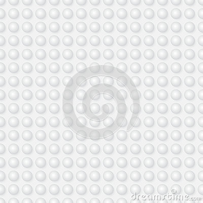Abstract seamless vector pattern - spheres on ligh