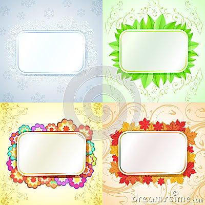 Abstract seasonal frames