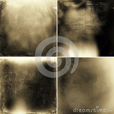 Free Abstract Sepia Grunge Textures Stock Photo - 54042900