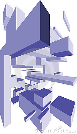 Abstract Shapes 3D Boxes