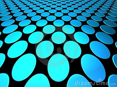 Abstract shiny dynamic dotted pattern background