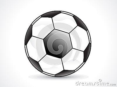 Abstract shiny football design
