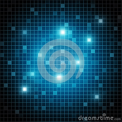 Abstract shiny rectangles background