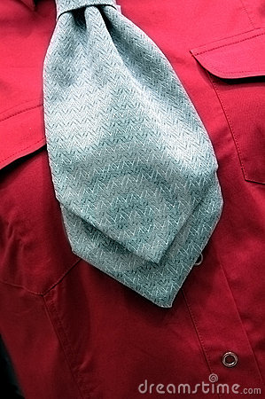 Abstract Shirt And Tie