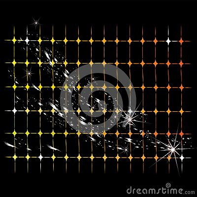 Abstract shone lattice, vector background