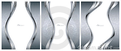 Abstract silver backgrounds templates
