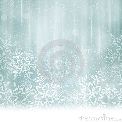Free Abstract Silver Blue Christmas, Winter Background Royalty Free Stock Photo - 45635815
