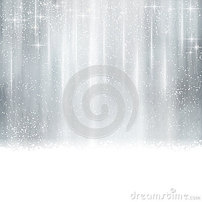 Free Abstract Silver Christmas, Winter Background Royalty Free Stock Photo - 35274875