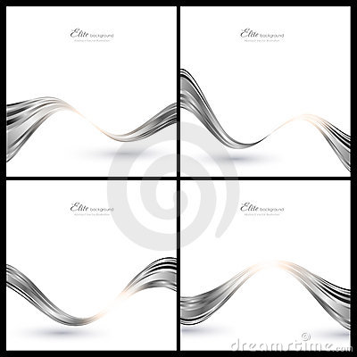 Abstract silver elements for background