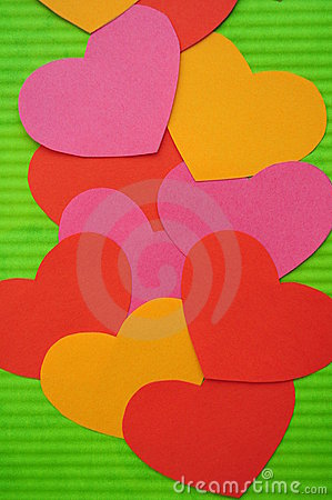 Free Abstract Simple Love Heart Background Stock Photography - 15977692