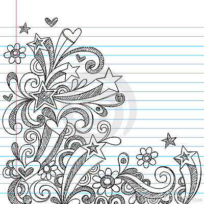 Free Abstract Sketchy Notebook Doodles Stock Image - 11466671