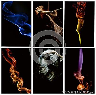 Abstract smoke series