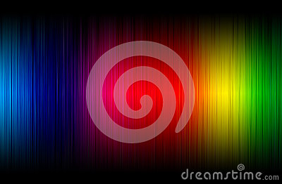 Abstract spectrum glowing