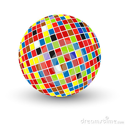 Abstract sphere design