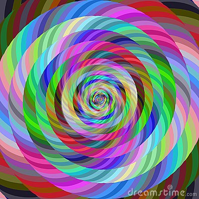 Free Abstract Spiral Fractal Design Background Royalty Free Stock Photography - 113484957
