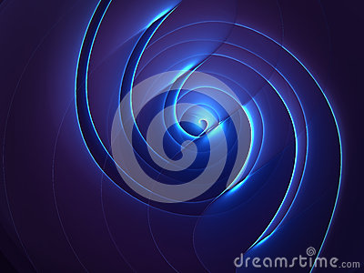 Abstract spiral twisted background