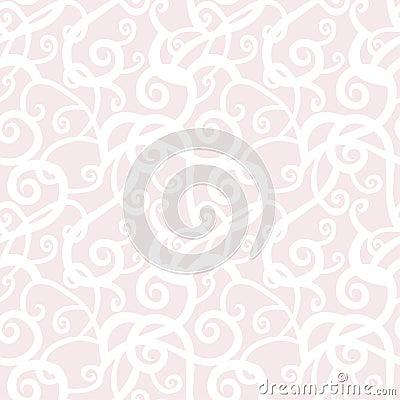 Abstract spirals seamless pattern