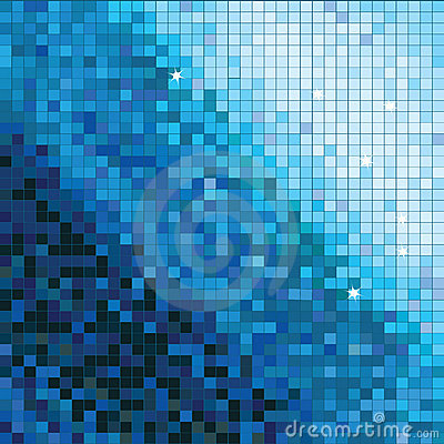 Abstract square mosaic background