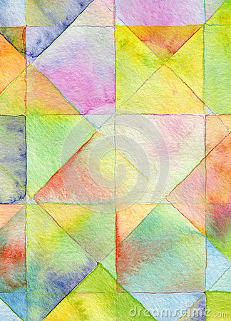 Free Abstract Square Watercolor Background Royalty Free Stock Image - 33306046