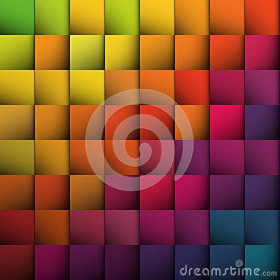 Free Abstract Squares Background. Royalty Free Stock Photo - 30154295