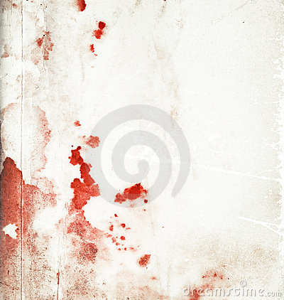 Abstract stained bloody background