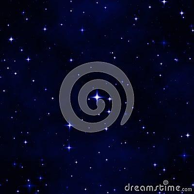 Free Abstract Star Night Sky Stock Image - 5613421