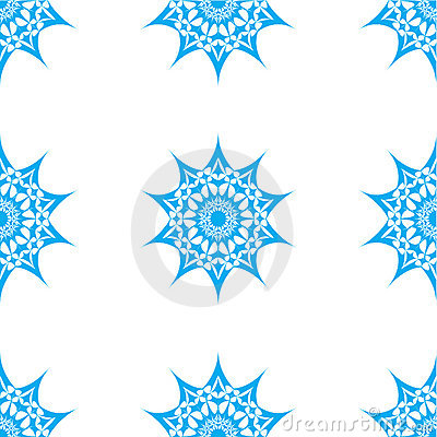 Abstract star seamless pattern
