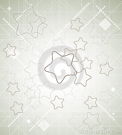 Abstract star tecnology  business background