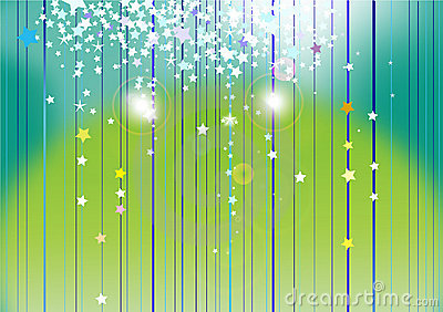 Abstract starlight background Stock Photo