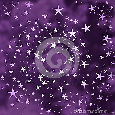 Abstract stars background Vector Illustration