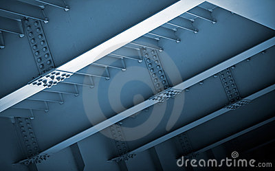 Abstract steel construction
